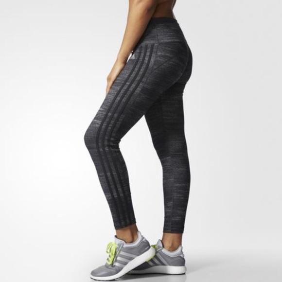 2ea47d7462e60 adidas Pants | Performer 34 3 Stripes Tights Az3143 Nwt | Poshmark
